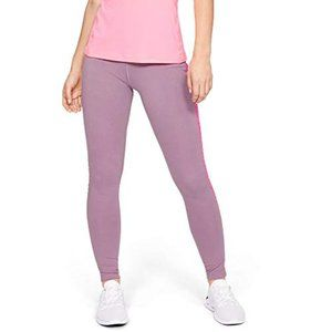 Under Armour Pink Calza Taped Workout Leggings